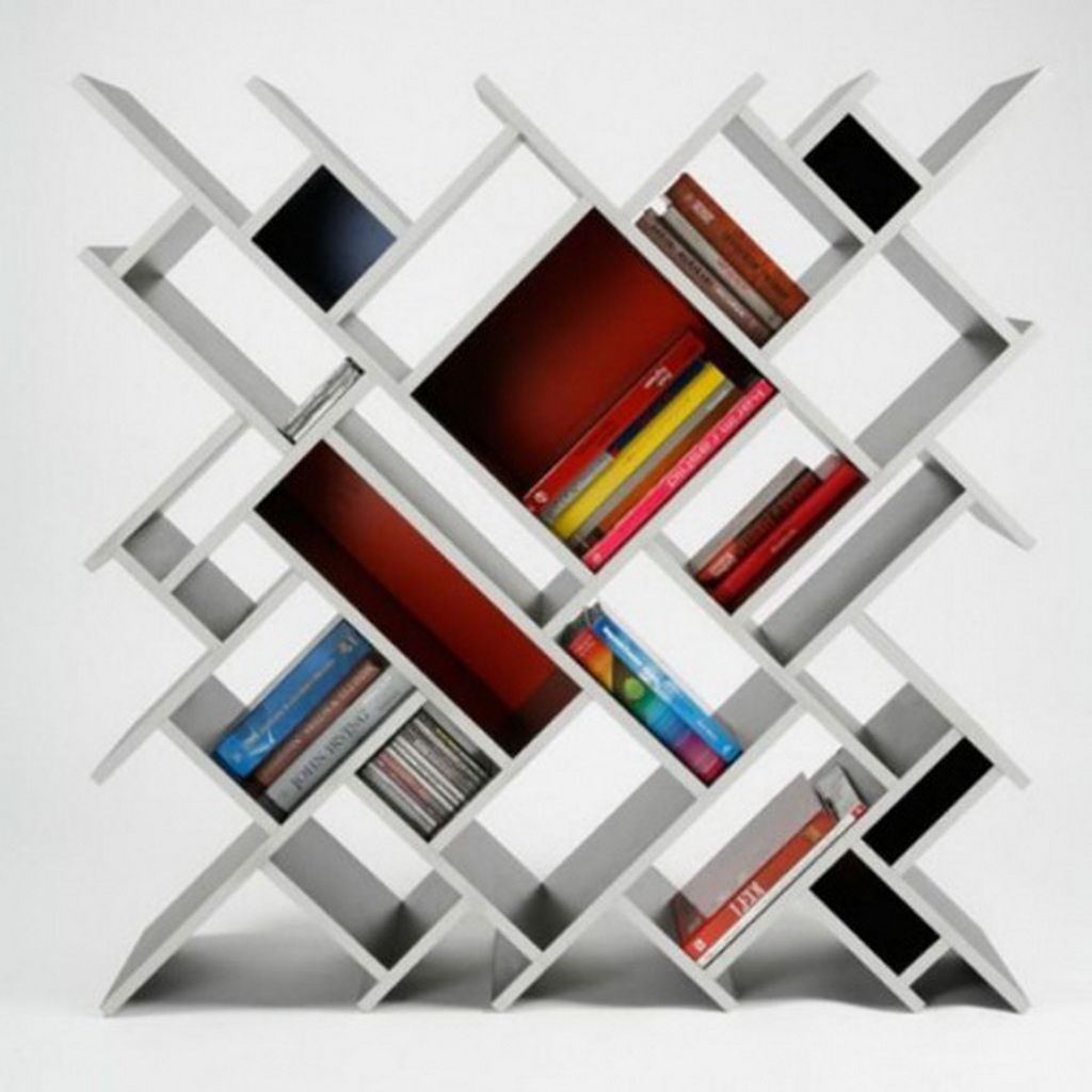Image gallery modern bookshelf for Modern minimalist bookcase