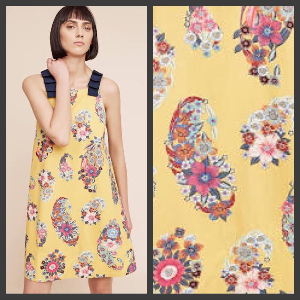3ea11660ca6b6 Nwt Anthropologie Maeve Sunniva Swing Dress | Products | Dresses ...
