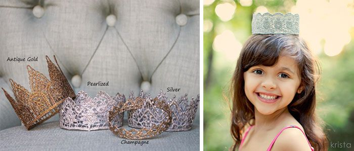 So cute...how could I make one myself? I'm thinking lace, starch/glue and spray paint. :)