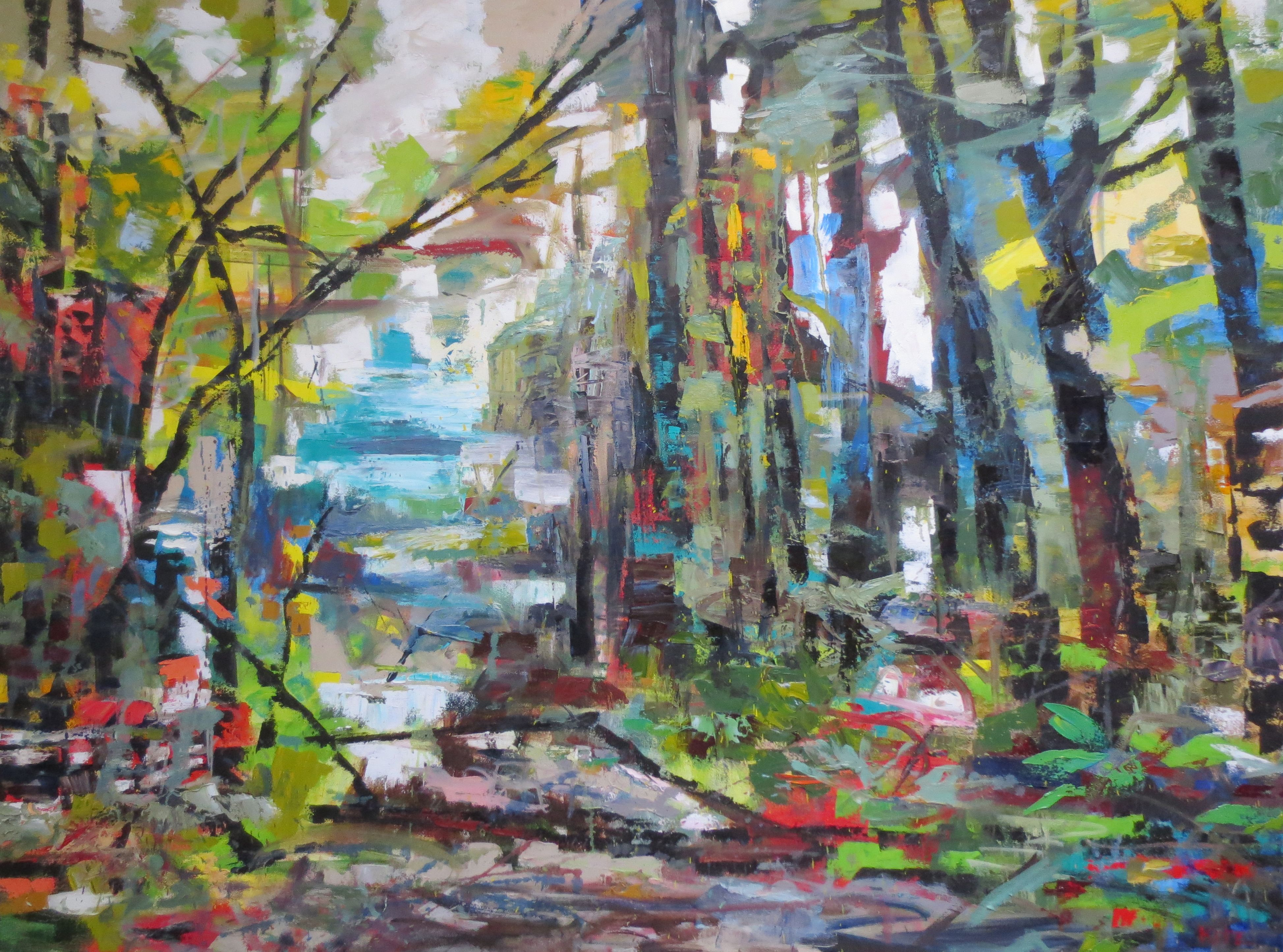 Abstract Painting Canopy By Kim Ford Kitz Kimfordkitz Com Abstract Painting Painting Abstract