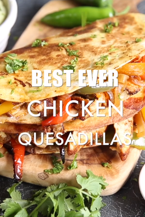 These Chicken Quesadillas are easy cheesy and packed full of flavour Here Ill show you just a few tips  tricks to make the best chicken quesadillas imaginable  uk
