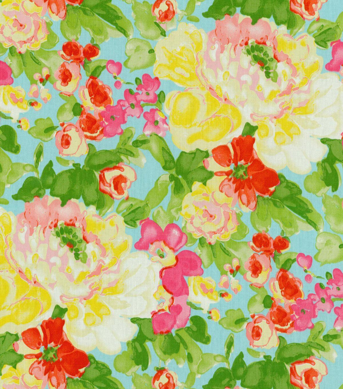 "Waverly Lightweight Decor Fabric 54"" Blossom Boutique"
