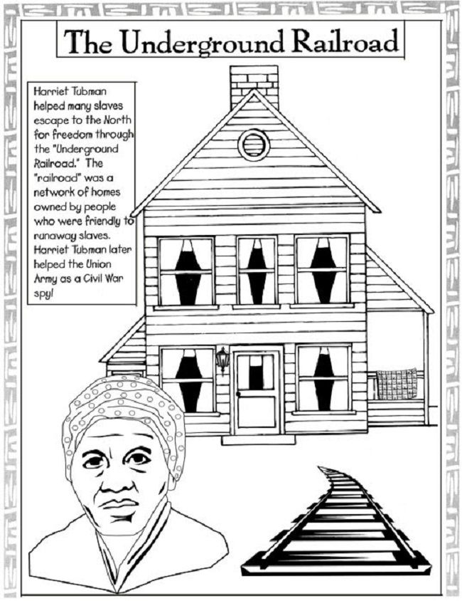 Rosa Parks Day coloring pages preschool