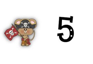 Classroom Freebies Too: Argh! Pirate Ten-Frame Freebie