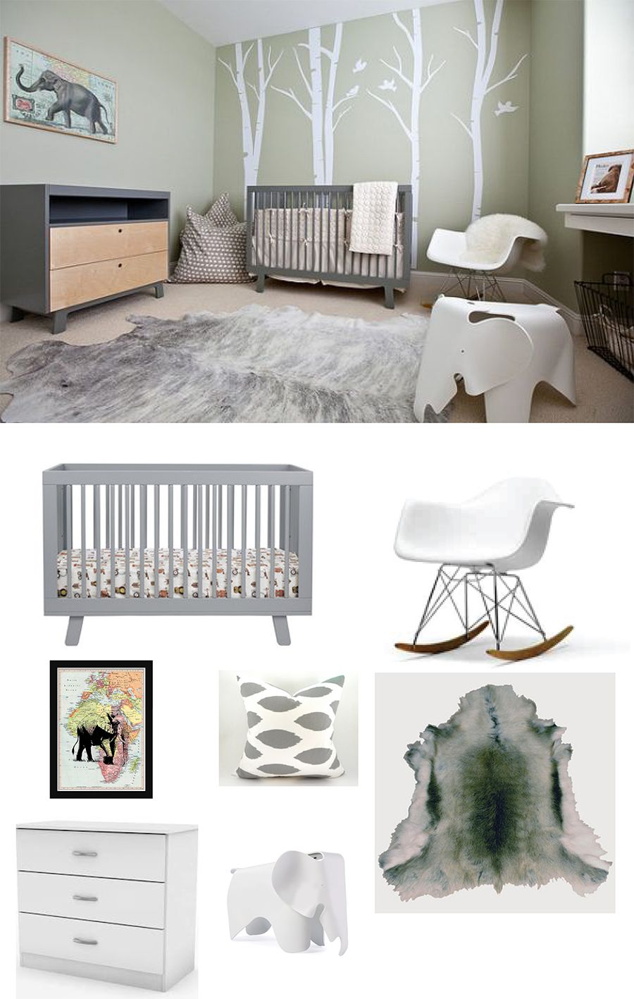 Two chic ideas for baby king george 39 s africa themed nursery rooms for the little ones - Baby jungenzimmer ...