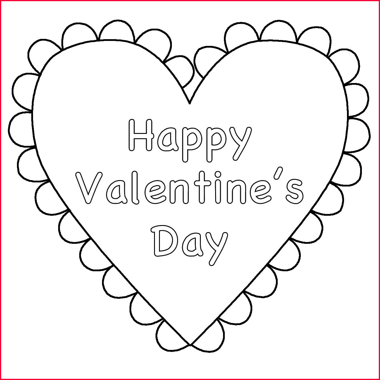 Heart Coloring Pages Printable In 2020 Valentine Coloring Pages Valentines Day Coloring Page Heart Coloring Pages