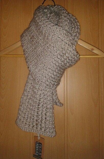Bufanda de hombre en gris claro de Bufandas With Style