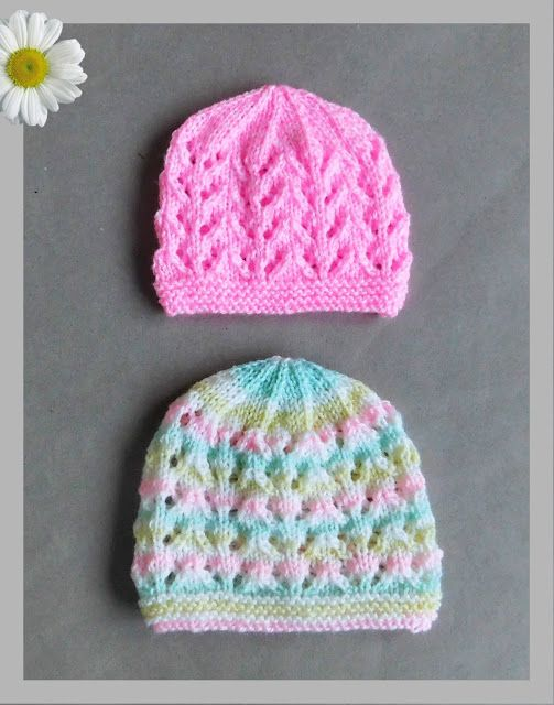 Just Wanted To Share Two Further Sizes Of My Popular Bibi Baby Hat
