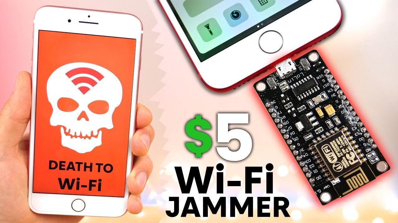 The Illegal $5 WiFi Jammer for iPhone & Android | TECH