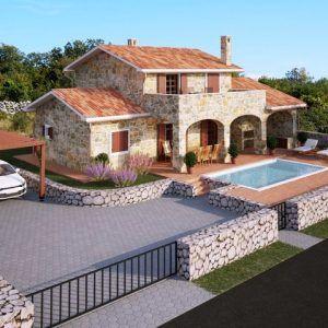 En Çok Tercih edilen Taş ev modelleri Terrace