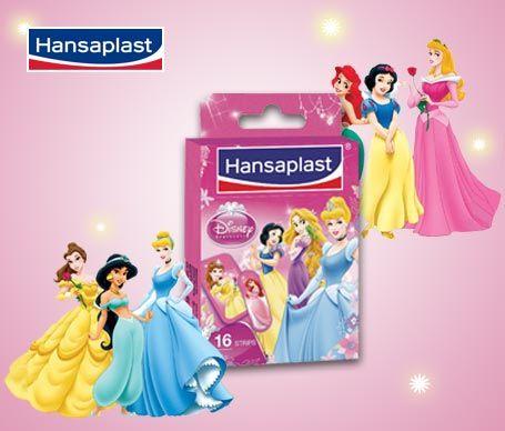Tiritas con Princesas de Disney Hansaplast. ¡Así las heridas duelen menos! $1.7€