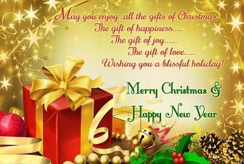 Christmas Card Messages And Christmas Card Wordings Christmas