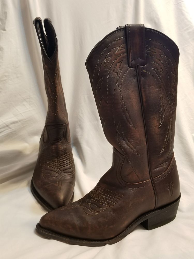 Frye boots 7 M Billy cowboy western cowgirl boot brown