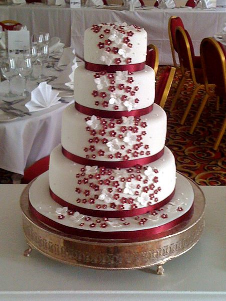 Red wedding cakes with flowers wedding cakes cake designer red wedding cakes with flowers wedding cakes cake designer cupcakes brighton cake life mightylinksfo Image collections