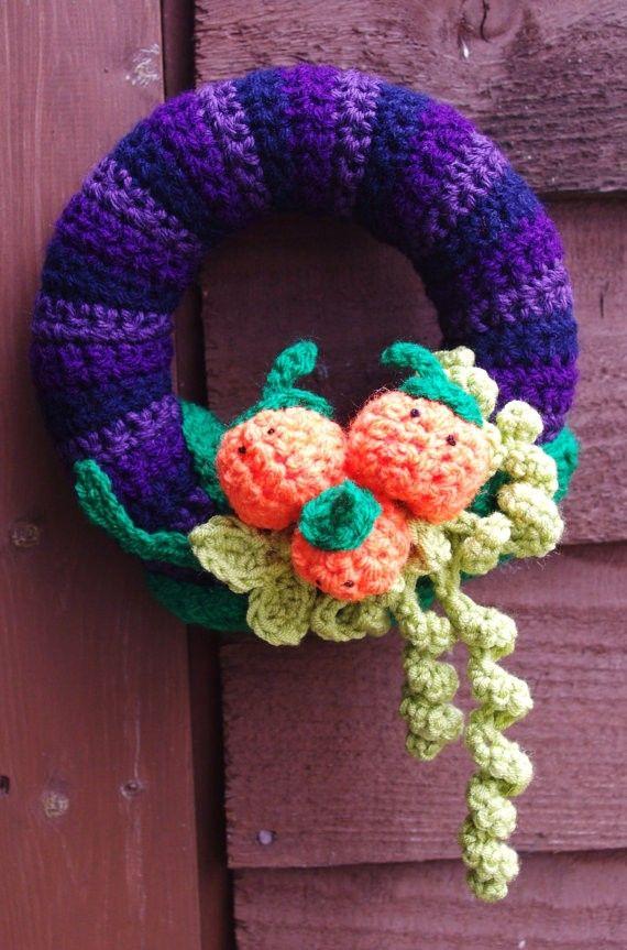 Photo of Crochet Wreath Spooky Festive Halloween.Hallow Crochet #Halloween #Wreath #c …