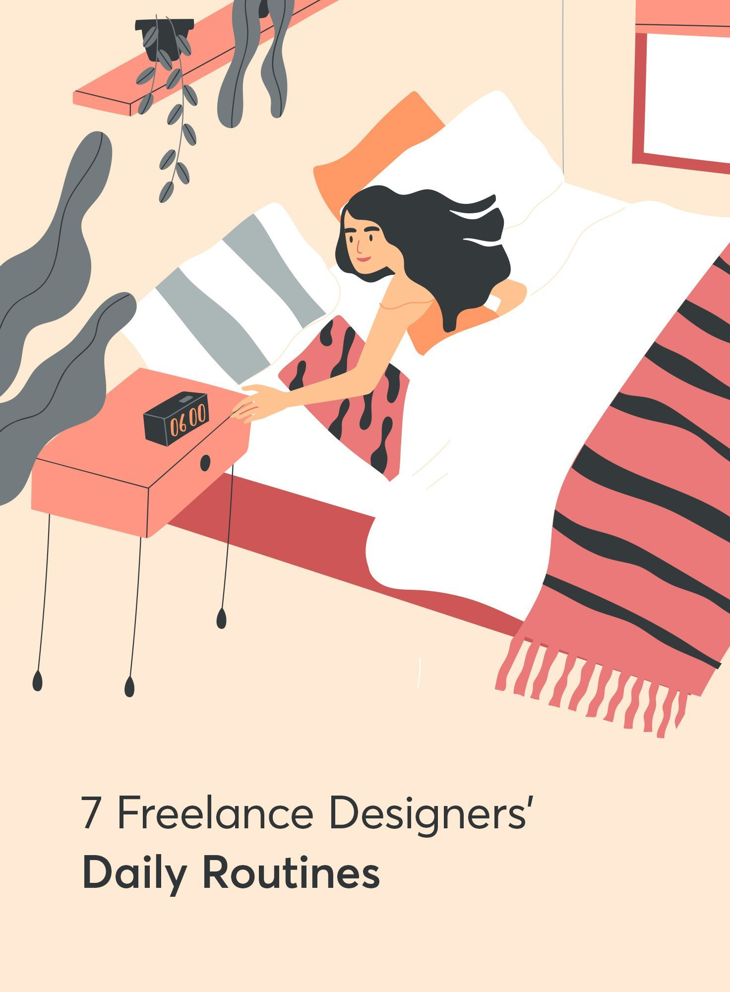 7 Freelance Graphic Designers Share Their Daily Routines In 2020 Freelance Graphic Design Graphic Design Activities Article Design