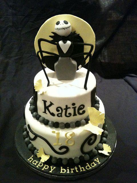 Jack Skeleton Birthday Cake Quinceaera Pinterest Cake