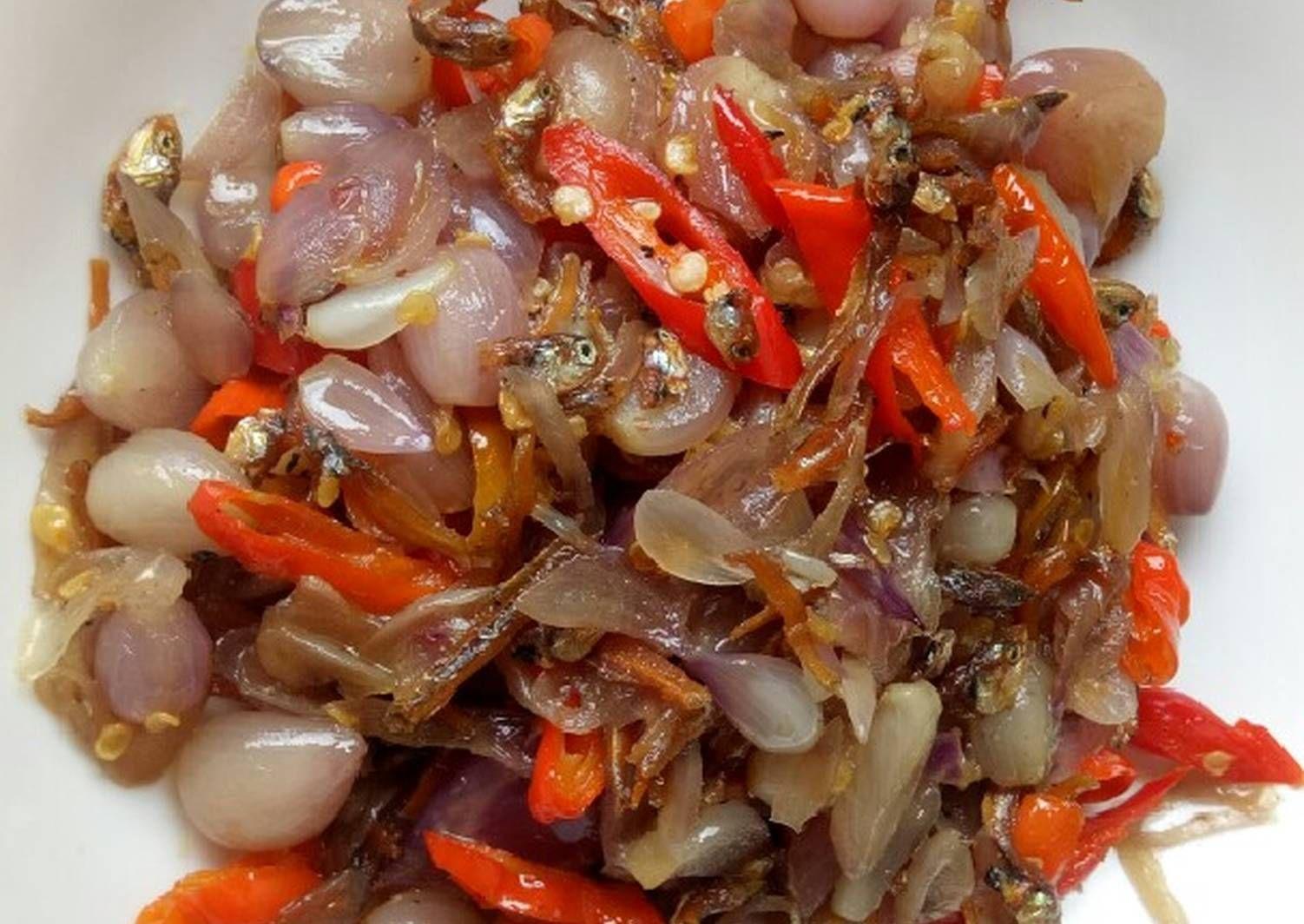 Resep Tumis Bawang Merah Oleh Ratih Bayu Resep Tumis Resep Makanan