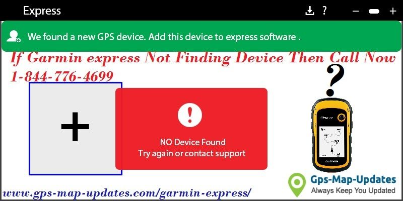 If you have errors like garmin express not finding device