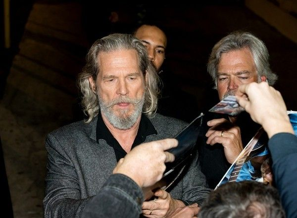 Jeff Bridges is seen at 'Jimmy Kimmel Live' on February 04, 2015 in Los Angeles, California