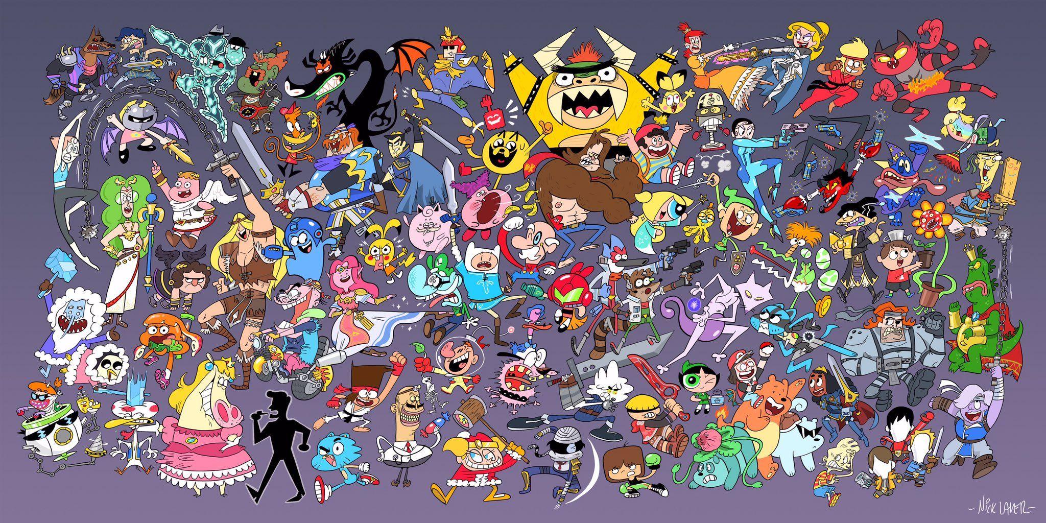 Nick Lauer On Twitter Super Smash Bros Cartoon Network Characters Cartoon Network