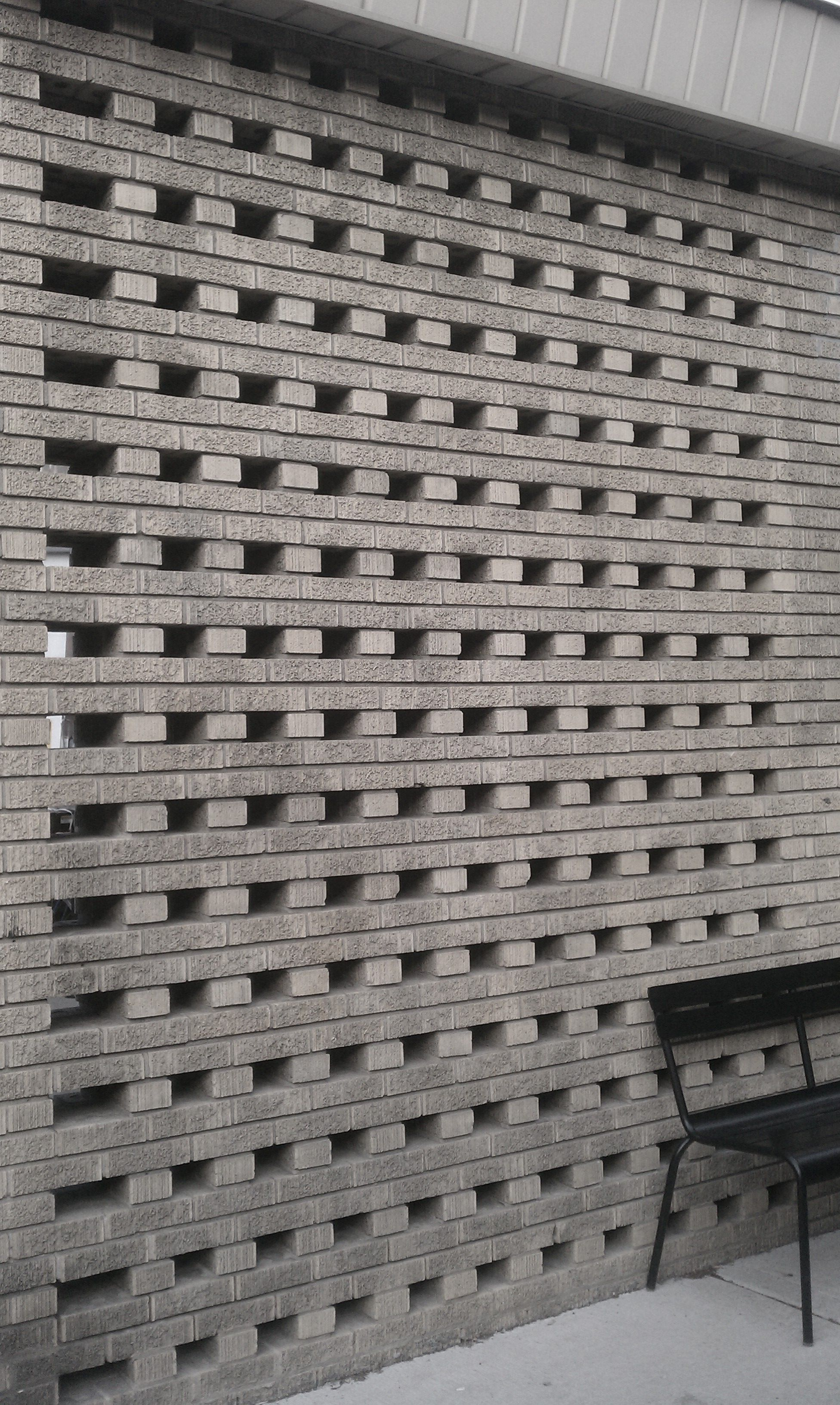 Lattice Brick Work In Chicago Starbucks Lakeview Masonry Austin Flats Rene Black Hitam 37