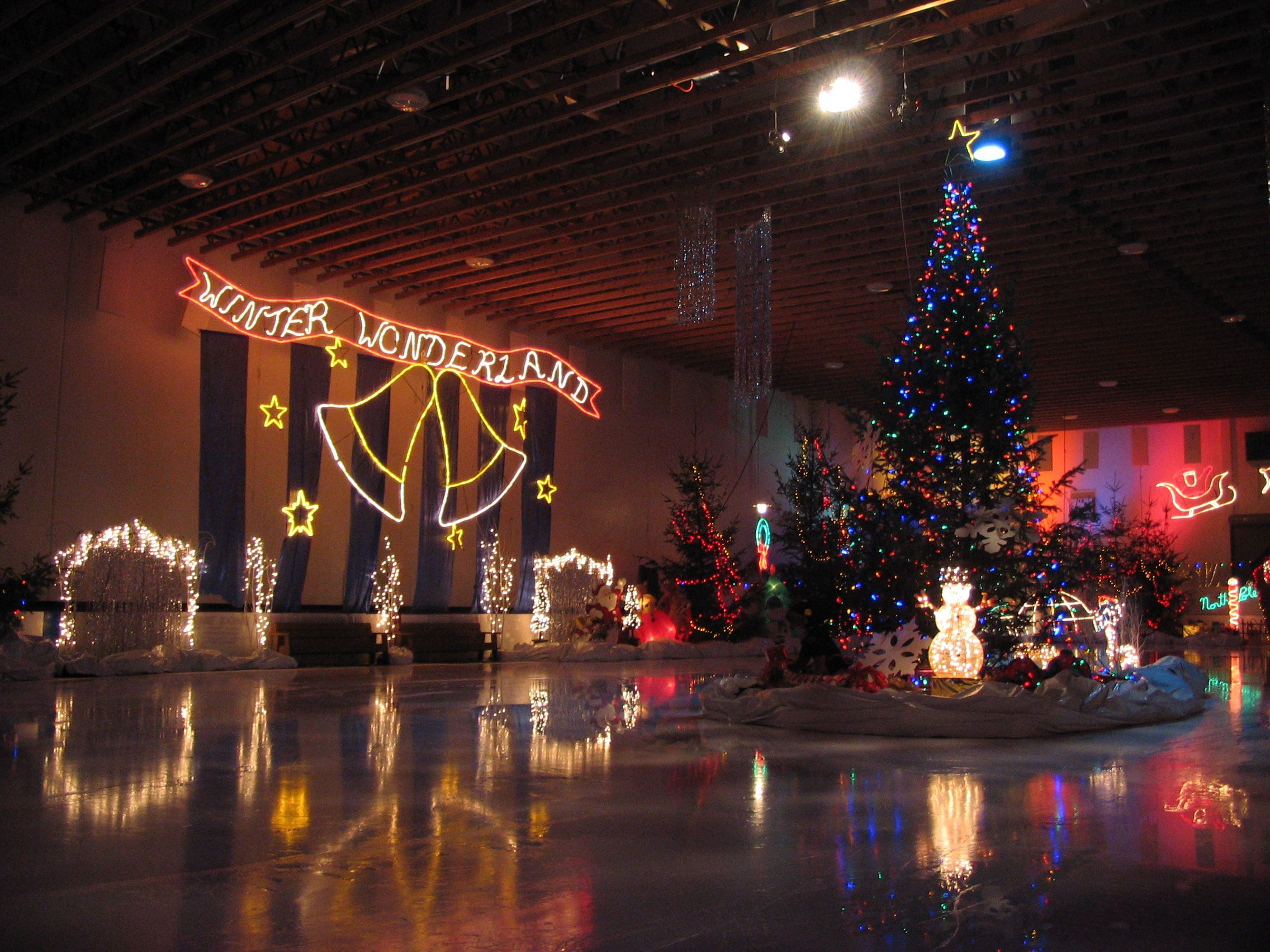 WINTER WONDERLAND - Yearly Community Skate Session - Donated by RE/MAX Mid-Island Realty...