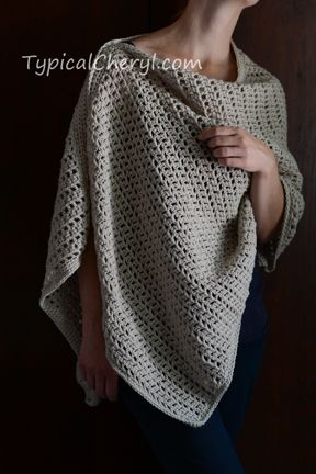 Simple Crochet Wrap Free Pattern From Typicalcheryl Simple
