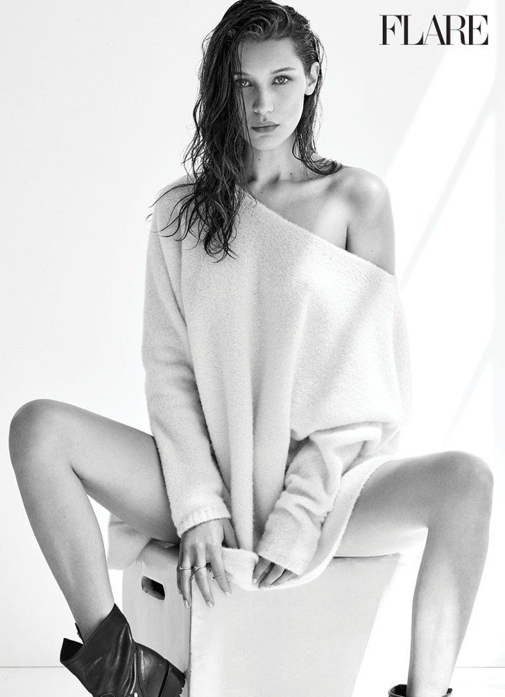 You Re Looking At Bella Hadid S Sexiest Shoot To Date