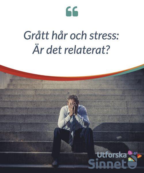 grått hår av stress