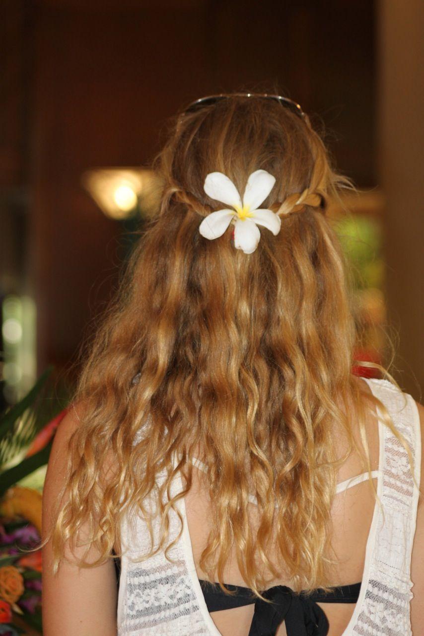Hawaiian Hair Hawaiian Hairstyles Hair Styles Hair