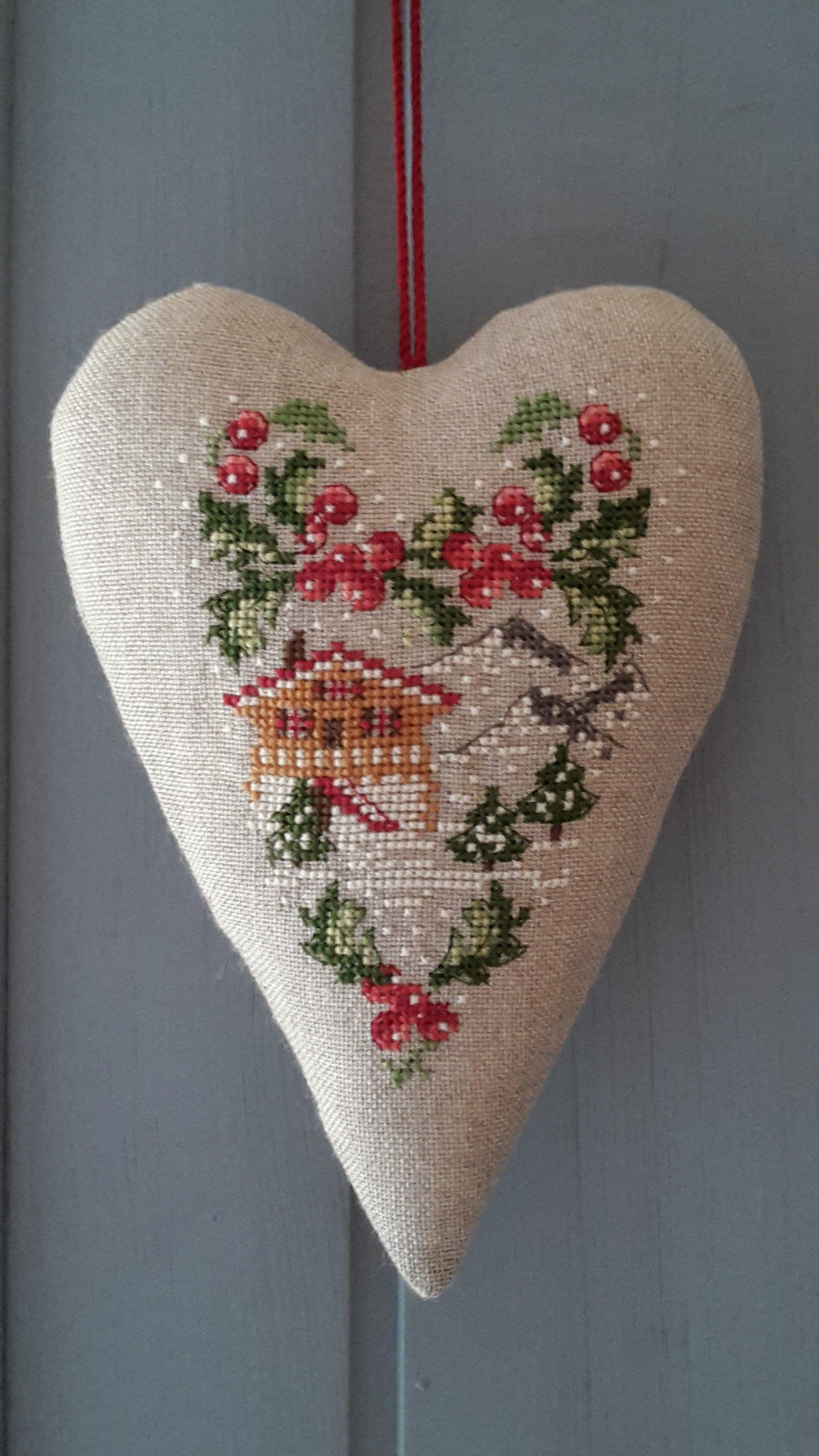 Biglietti Di Natale A Punto Croce.Veronique Enginger Xmas Cross Stitch Motivi Punto Croce Punto