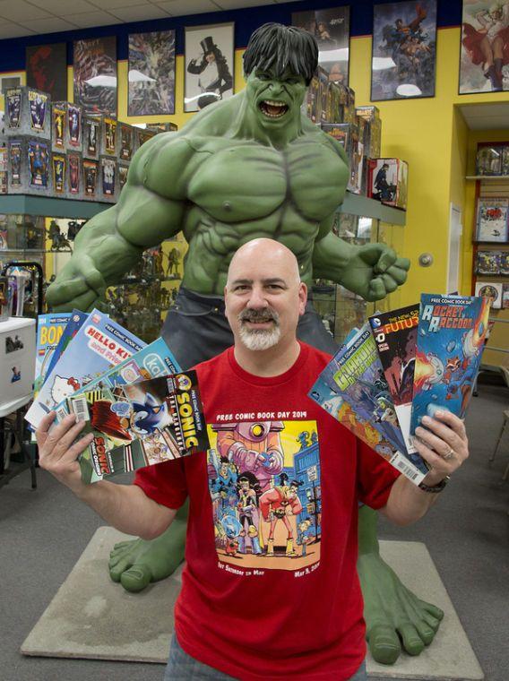 #Frederick Free Comic Book Day