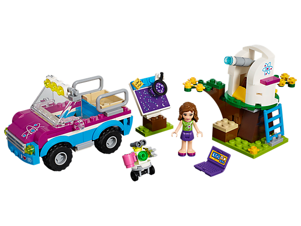 Lego Friends 41116 Olivias Exploration Car With Building