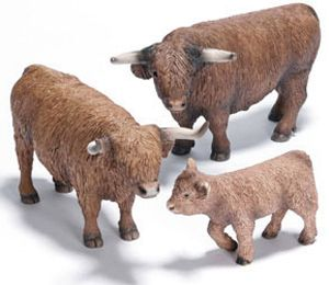Free Delivery Large Highland Cow Figure Collecta