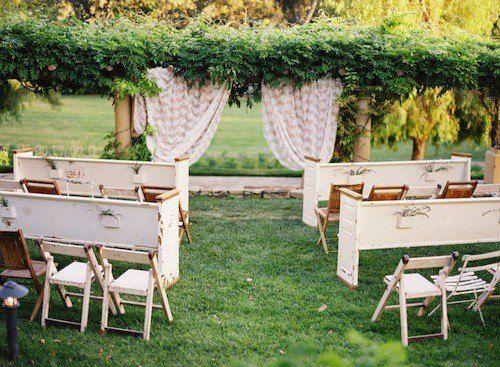 outdoor wedding seating ideas - Google Search | Let\'s Plan A Wedding ...