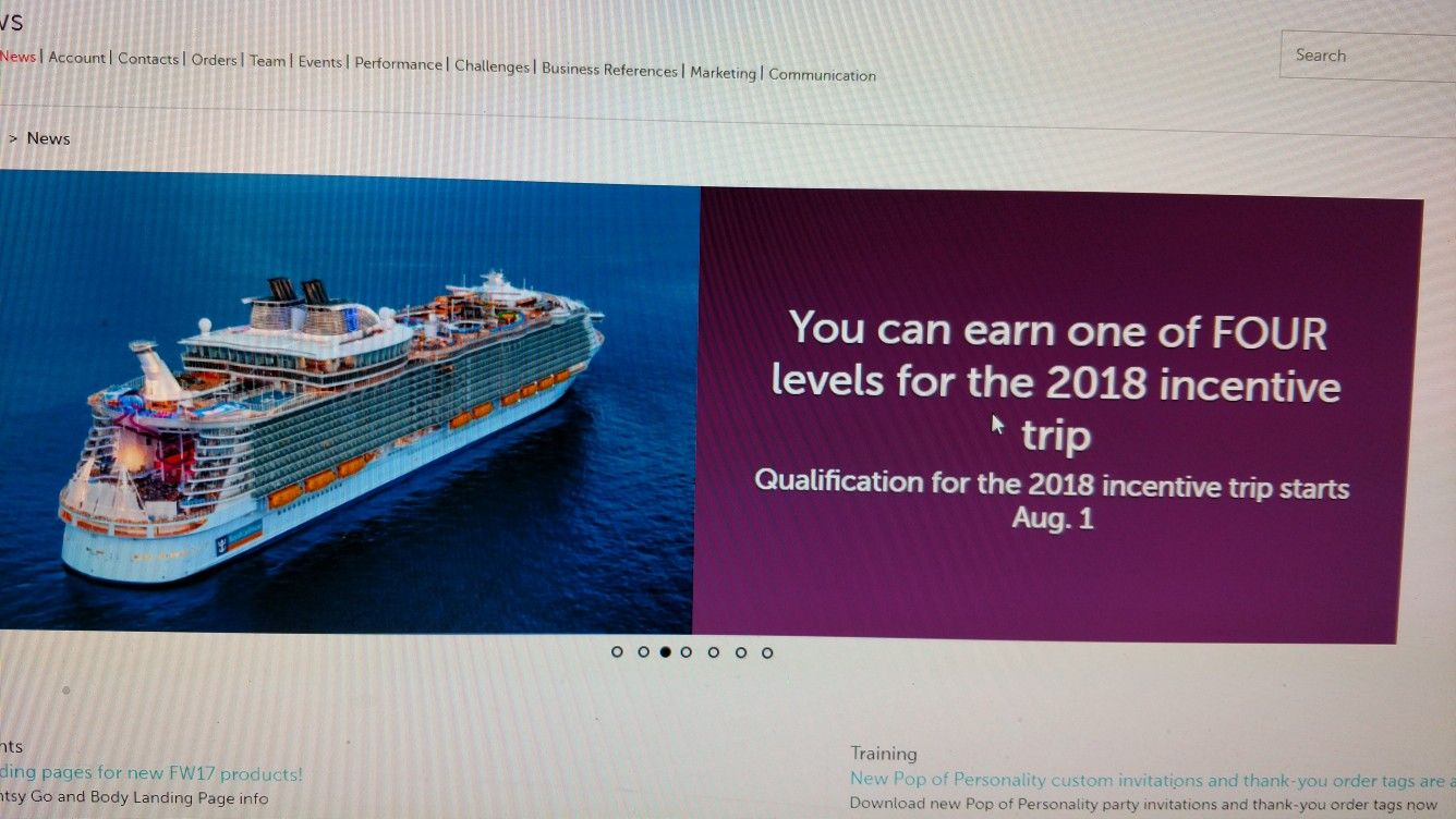 Cruises that you can earn who wants to go with us to
