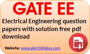 Gate Electrical Engineering Ee Question Papers With Solution 2019 Download Free Pdf Question Paper This Or That Questions Previous Year Question Paper