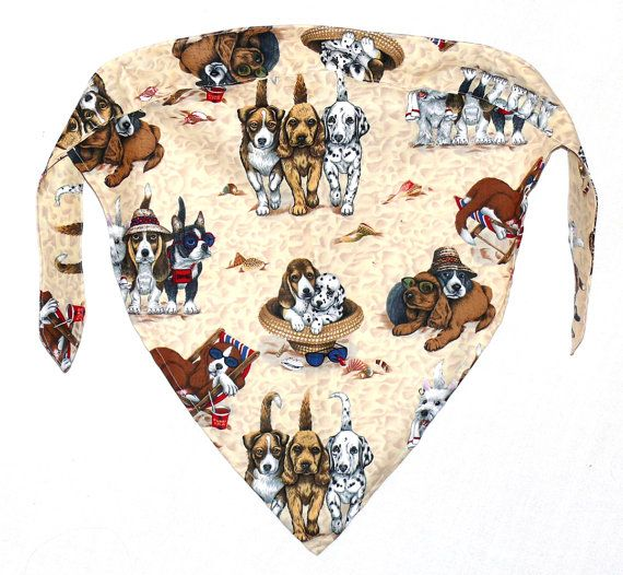 Dog Lovers Doo Rag SkullCap Chemo Welding Cap by