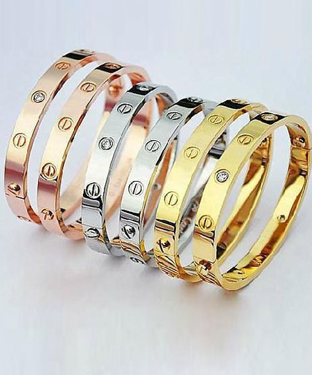 Cartier Inspired Eternal Love Bracelet Reg 24 00 On Now 15 50