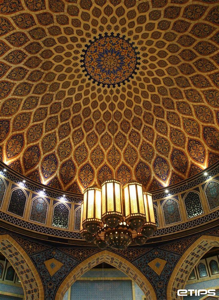 Dubai Ceiling in  Ibn Battuta Mall