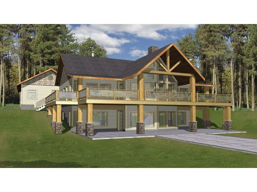 Ranch Style House Plan 2 Beds 3 Baths 3871 Sq Ft Plan 117 840 A Frame House Plans Mountain House Plans Ranch Style House Plans