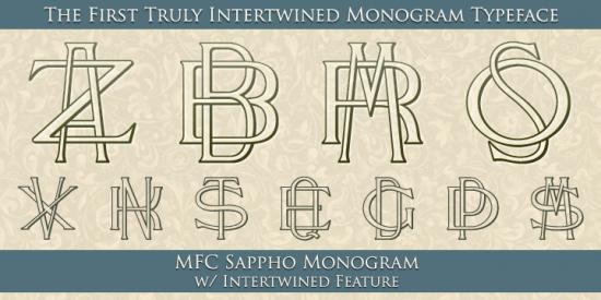 Monogram generator - so useful for DIY cards, invitations