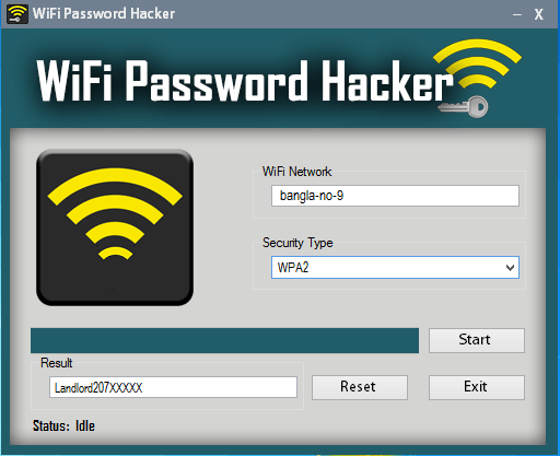 Hack WiFi Password APK