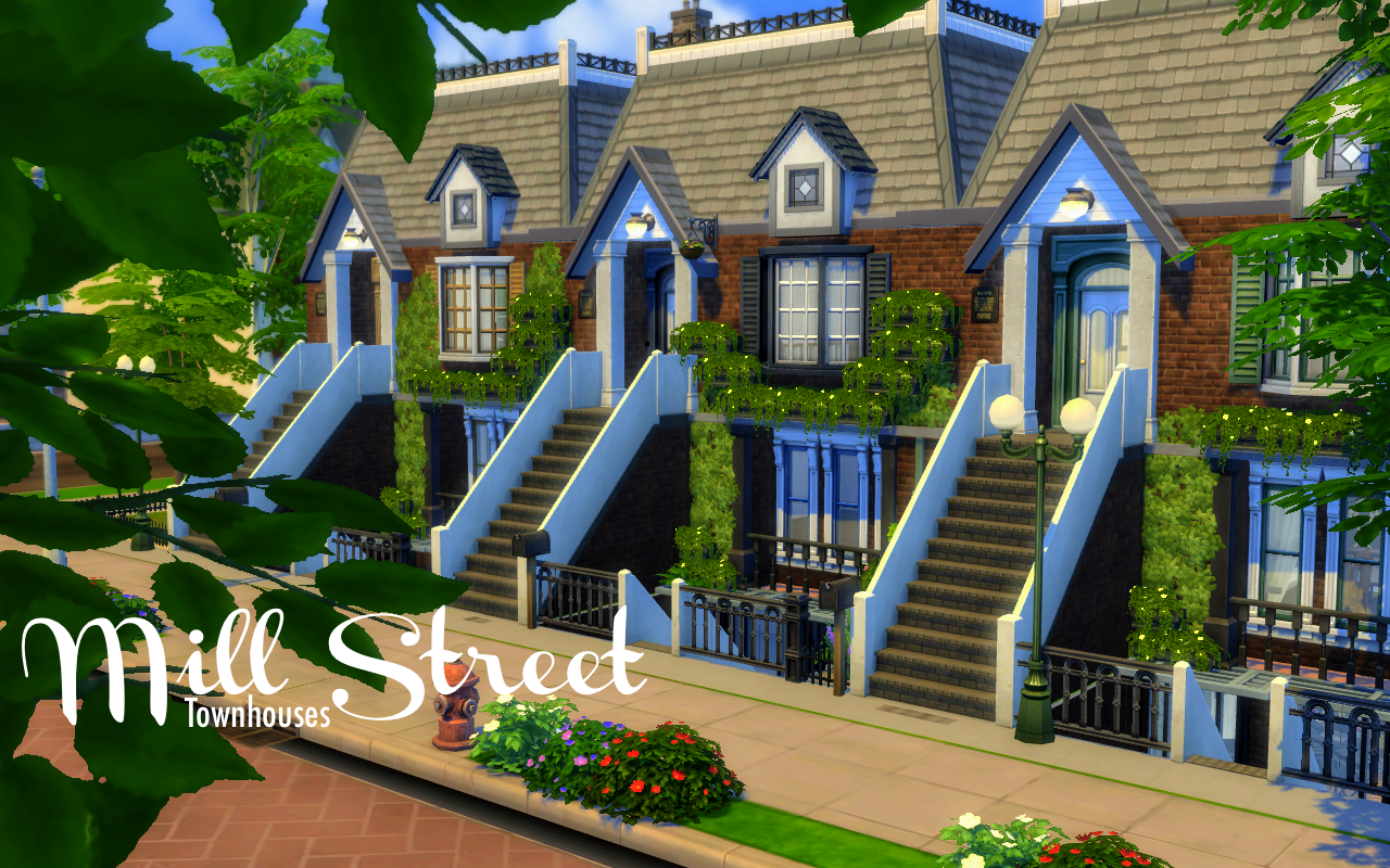 59 Mill Street (Townhouses)Here's my first townhouses
