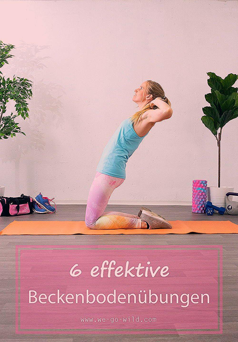 Du suchst Beckenboden Übungen, die du zuhause machen kannst? Dann bist du hier richtig! #training #w...