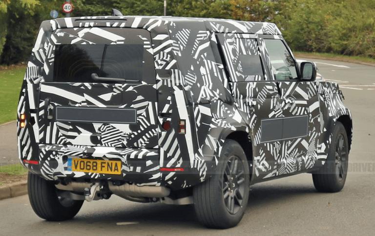 2020 Land Rover Defender Exterior | Land rover defender ...