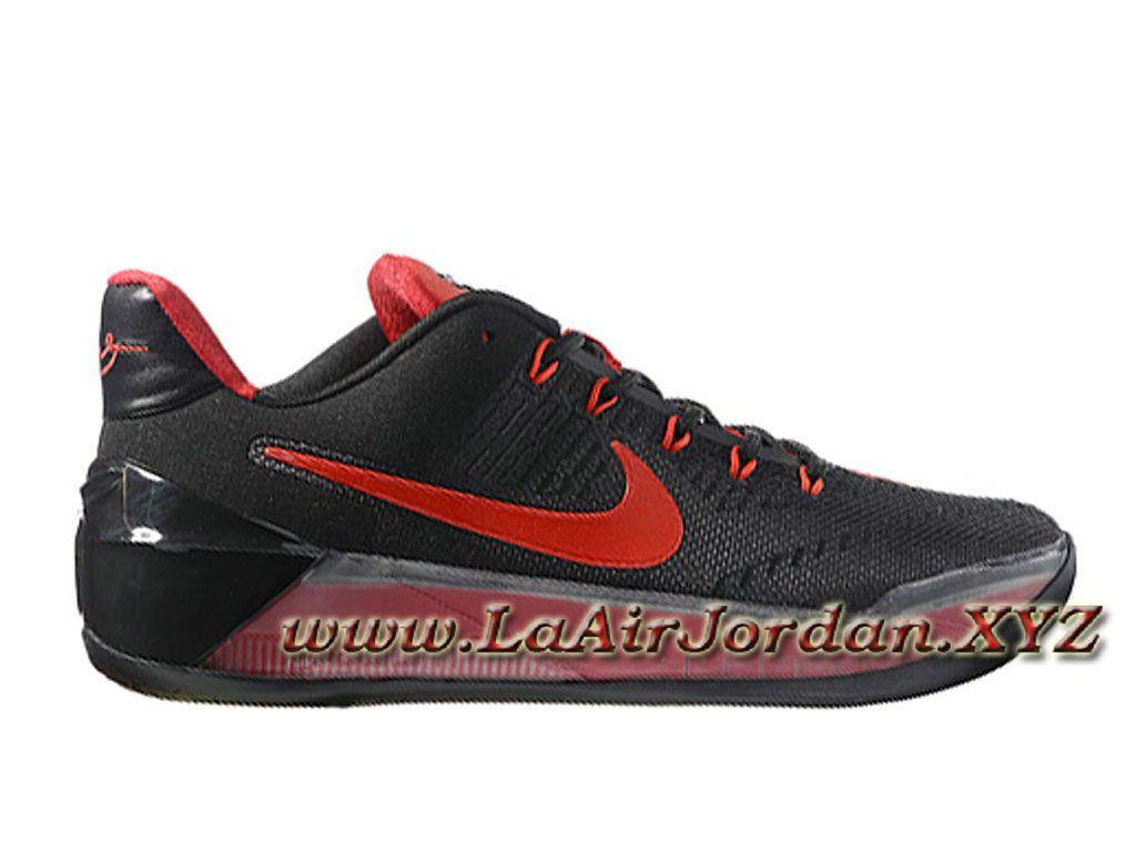 Nike Kobe AD Noir Rouge 852425_ID1 Chaussures Officiel NIke Prix Pour Homme  Noir