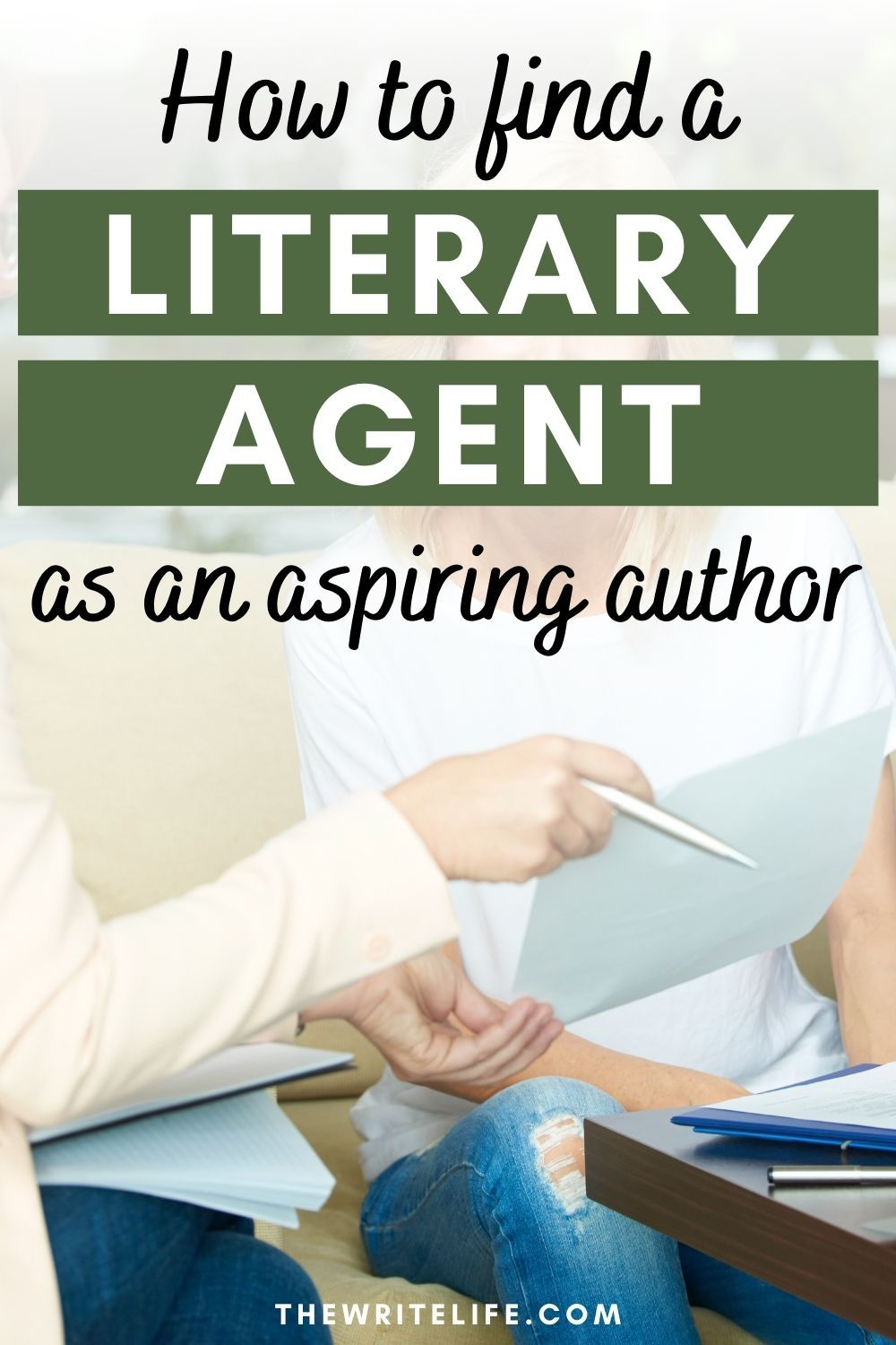 How To Get A Literary Agent To Represent You And Your Book Literary Agent Aspiring Author Nonfiction Books