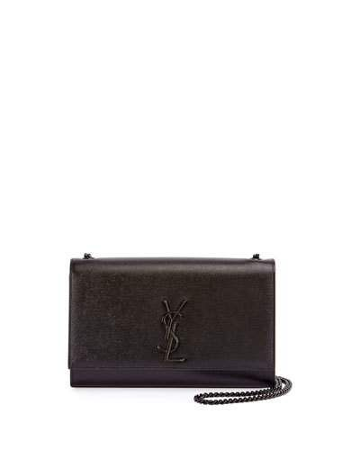 Kate Small Grain De Poudre Chain Shoulder Bag Black Hardware Chain Shoulder Bag Chain Bags Bags